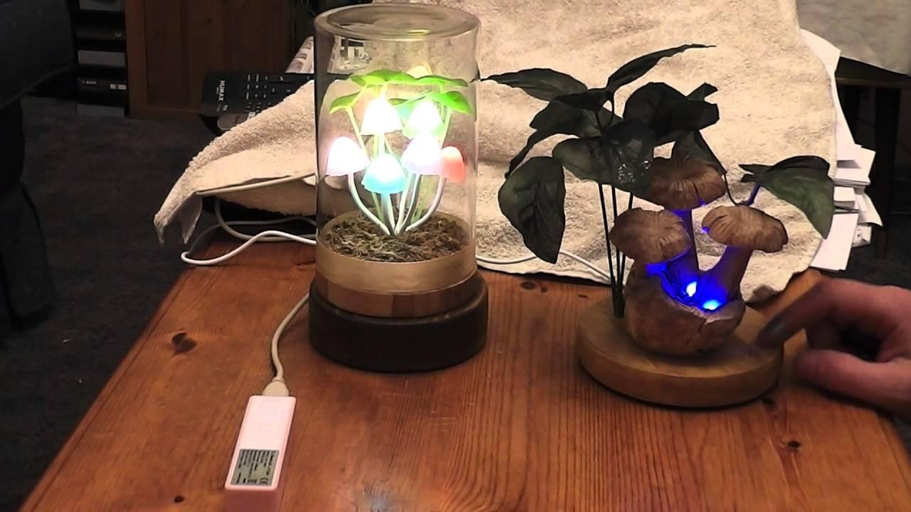 Homemade Mushroom USB LED Lamps