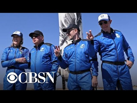 Watch Live: Blue Origin launches William Shatner into space on second crewed flight | CBSN