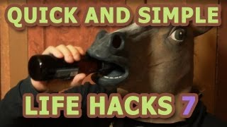 Quick and Simple Life Hacks - Part 7