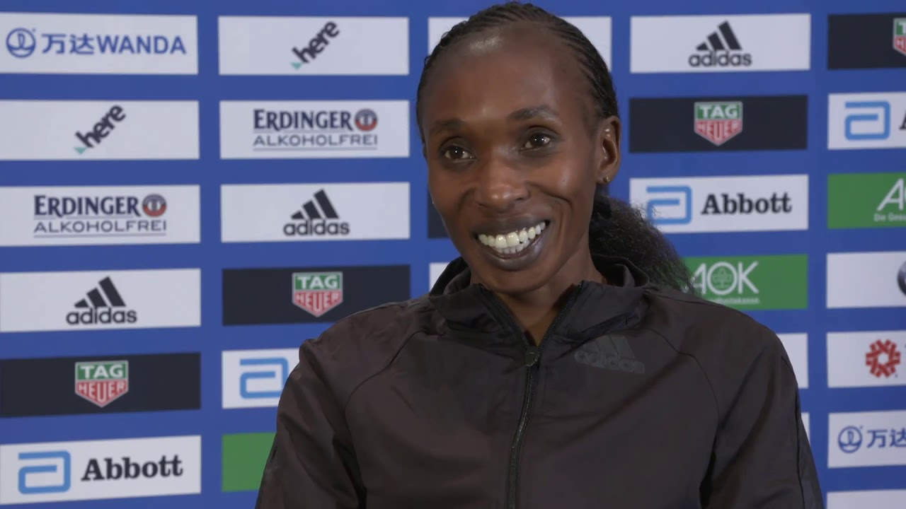 VIDEO RELEASE: BMW BERLIN-MARATHON ON SUNDAY:  Video interview with Gladys Cherono