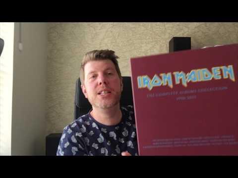 IRON MAIDEN  BOX SET 1990-2015 VINYL REVIEW!