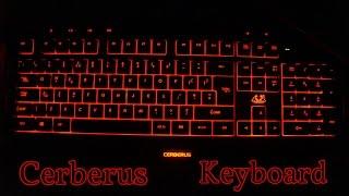 Asus Cerberus Gaming Keyboard Unboxing  -  English [4K]