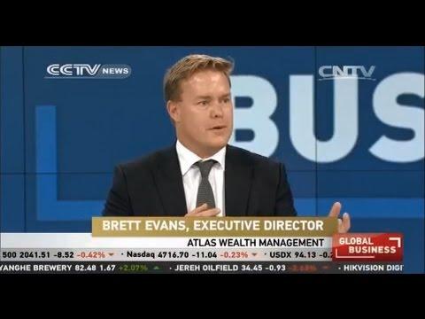 CCTV Global Business Channel interview of Brett Evans, Australian Expat Financial Adviser
