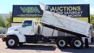 2000 Sterling LT9500 10 Yard Dump Truck at Public Auction