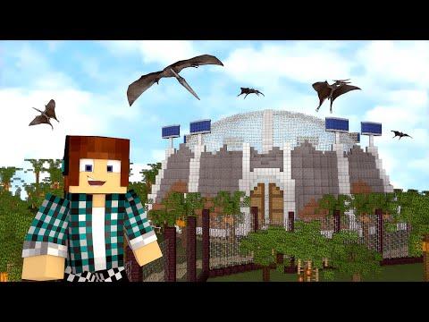 Minecraft : NOVIDADES NO PARQUE DOS DINOSSAUROS !! - ARK CRAFT SURVIVAL #44