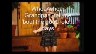 Danielle Bradbery - Grandpa (Tell Me