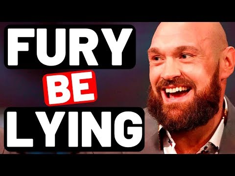 WTH?!?! TYSON FURY gives HUGE EXCUSE for DEONTAY WILDER rematch not happening.