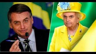 """Gambar cover Bolsonaro, a """"Rainha Louca"""", se descontrola por saber que tem uma caneta sem tinta"""