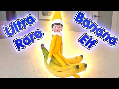 Ultra RARE Yellow Elf on the Shelf is the Banana Elf | DavidsTV