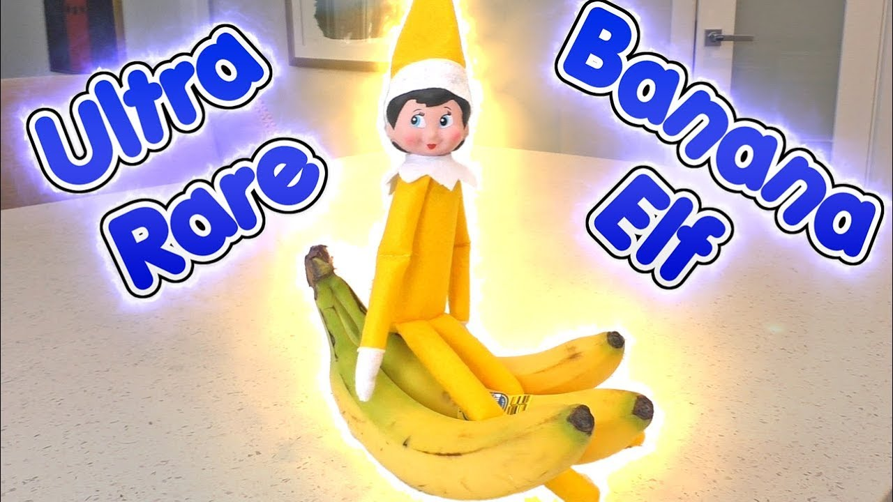 Ultra Rare Yellow Elf On The Shelf Is The Banana Elf