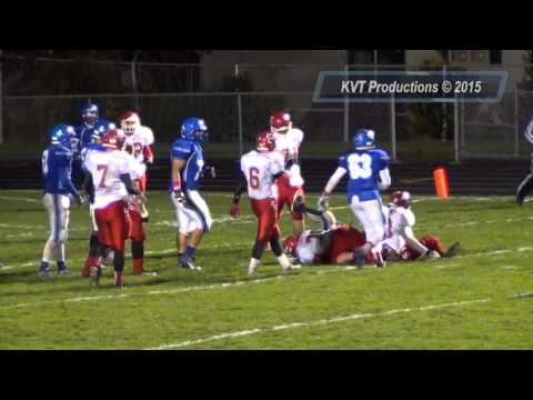 Fort Cherry Football @ Union Area Highlight Video 10-16-15