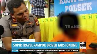 Sopir Travel Rampok Driver Taksi Online | REDAKSI PAGI (27/12/19)