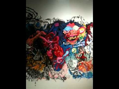 SONY Music Entertainment's RED Mural Finalized Details On Lobby Wall Space