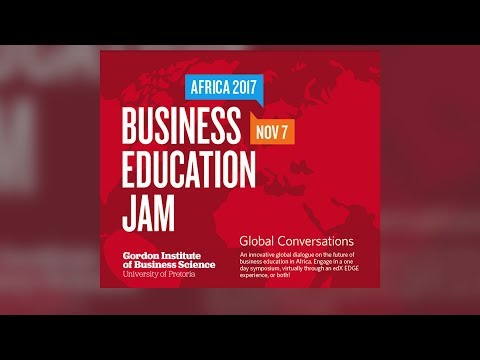 Africa Business Education JAM live from GIBS