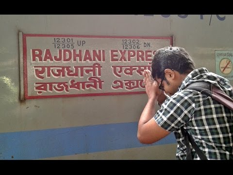 HIGH SPEED Journey by HOWRAH Rajdhani Express!! New Delhi-Mughalsarai Section...