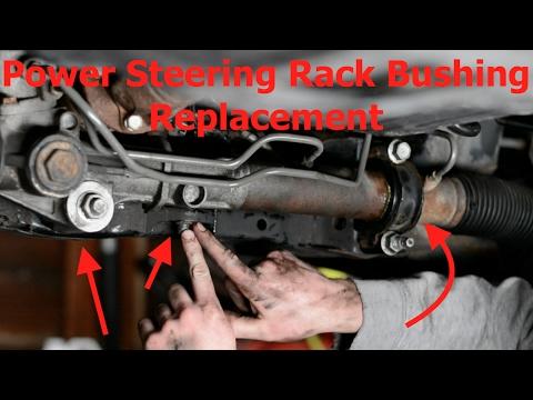 Power Steering Rack Bushing Replacement Youtube