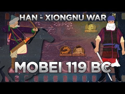 Battle of Mobei 119 BC - Han–Xiongnu War DOCUMENTARY