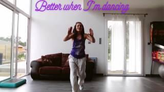 warm up Zumba®- Better when I'm dancing -Meghan Trainor