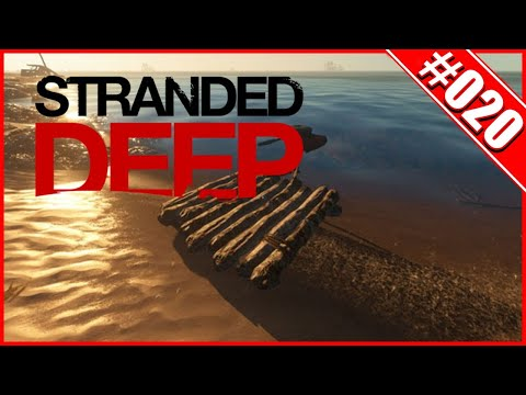Stranded Deep  🌍020 - Der Bau Des Bootes  - German/ Deutsch Gameplay