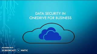 Data Security in OneDrive for Business