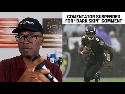 Football Commentator SUSPENDED For Lamar Jackson