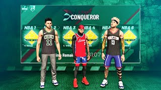 I carried a 10 Yr Old, 70s Overall in Court Conqueror, All Iso in NBA 2k19