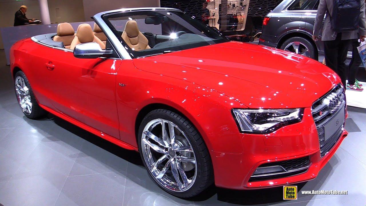 Audi S Convertible Exterior And Interior Walkaround - Audi s5 convertible