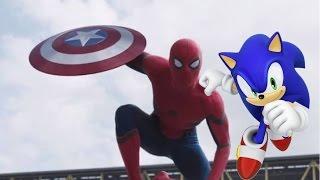 super smash bros fan made trailer captain america civil war trailer 2 style mash up parody