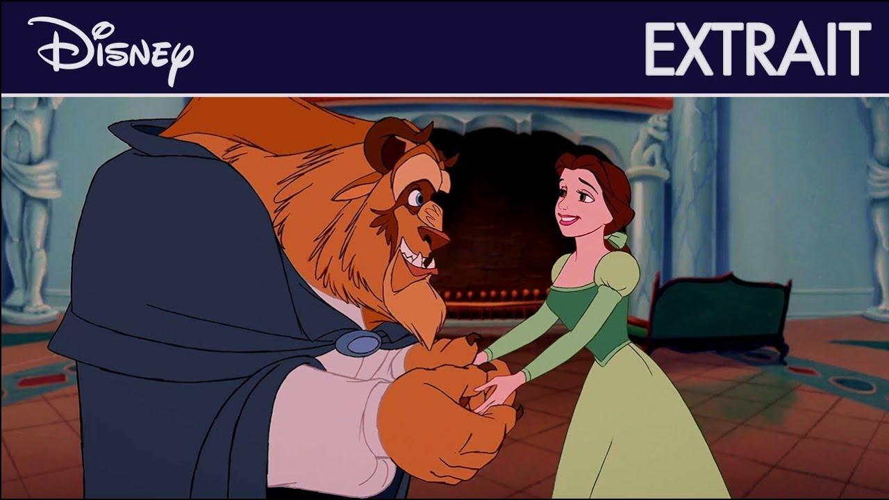 La Belle et la Bête - Extrait : Belle découvre la bibliothèque   Disney