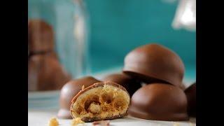 Homemade Chocolate Malt Balls (Maltesers/Whoppers)