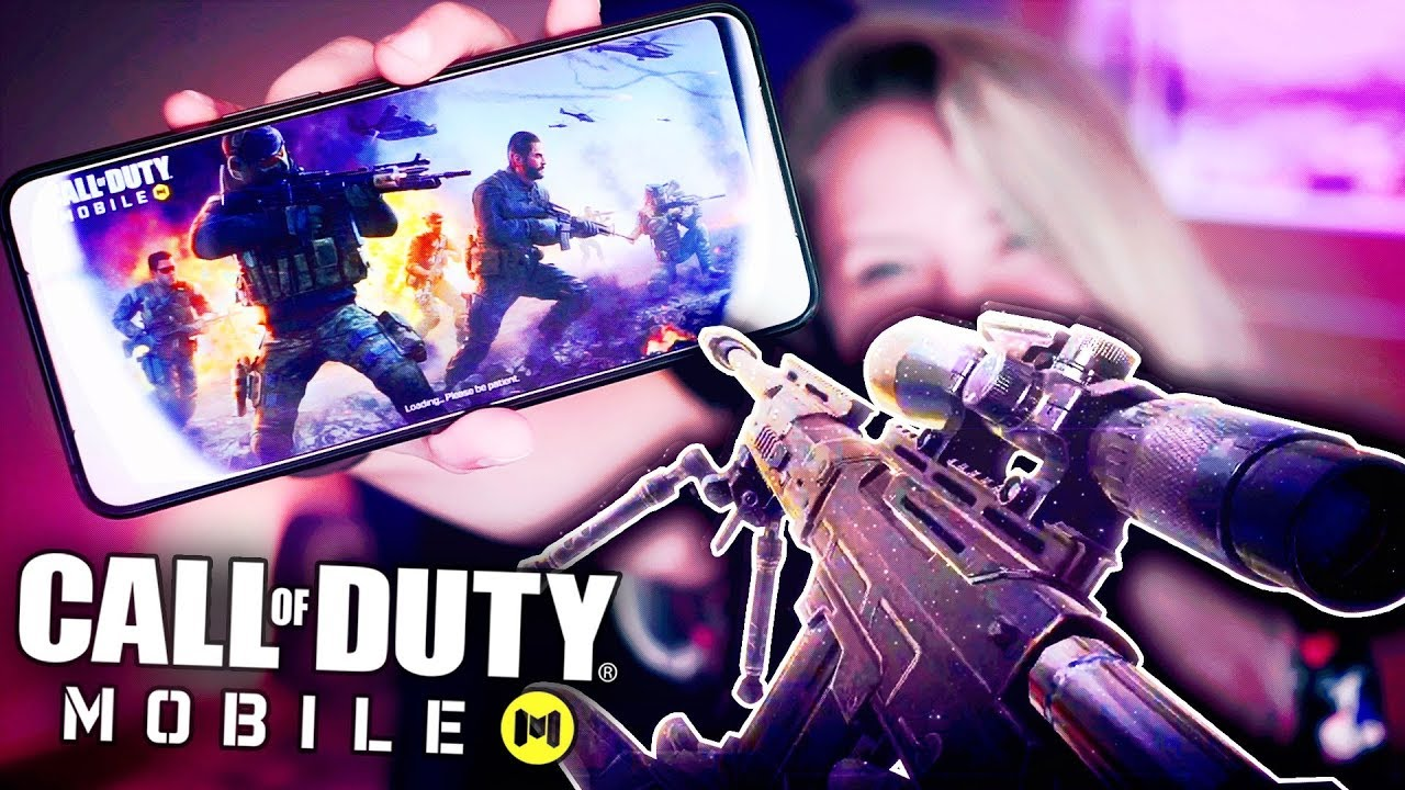 COD MOBILE ON THE MOST POWERFUL GAMING PHONE! (Call of Duty Mobile) thumbnail