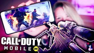 COD MOBILE ON THE MOST POWERFUL GAMING PHONE! (Call of Duty Mobile)