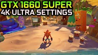 Crash Bandicoot 4 | GTX 1660 SUPER - 1080p, 1440p and 4K!