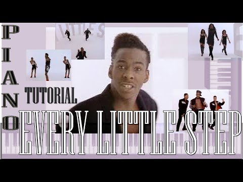 Every Little Step - Piano Tutorial - Bobby Brown - Bo Miles
