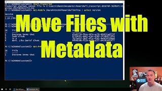 Move SharePoint Online files with Metadata