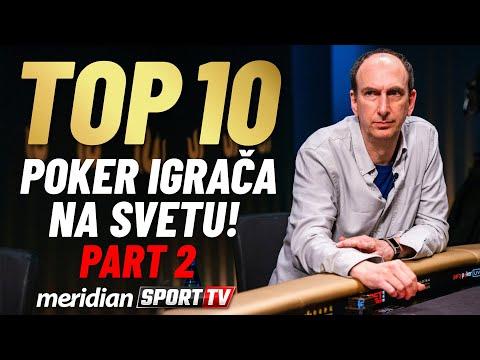 TOP 10 NAJBOLJIH POKER IGRAČA NA SVETU | PART 2 | Meridian Sport TV