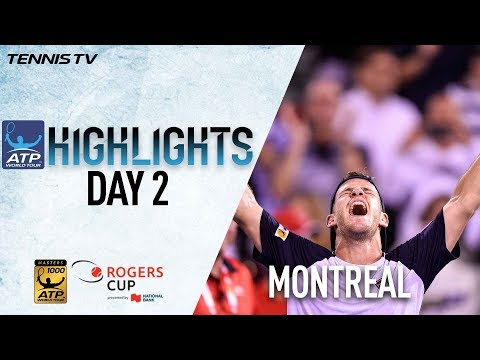 Highlights: Schwartzman, Shapovalov, Goffin Win At Montreal 2017 Tuesday