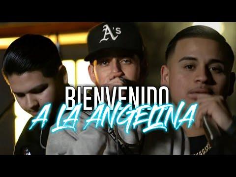 (LETRA)-Bienvenido A La Angelina - Fuerza Regida Ft Herencia De Patrones Ft Jtres