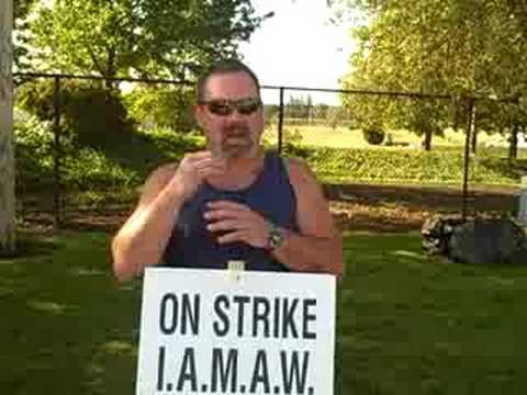 OR: IAM  Boeing Strike in Gresham Oregon