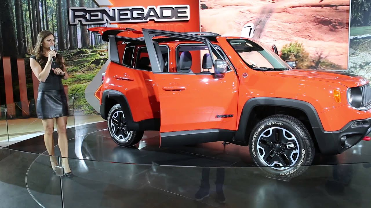 2016 jeep renegade suv from new york international auto. Black Bedroom Furniture Sets. Home Design Ideas