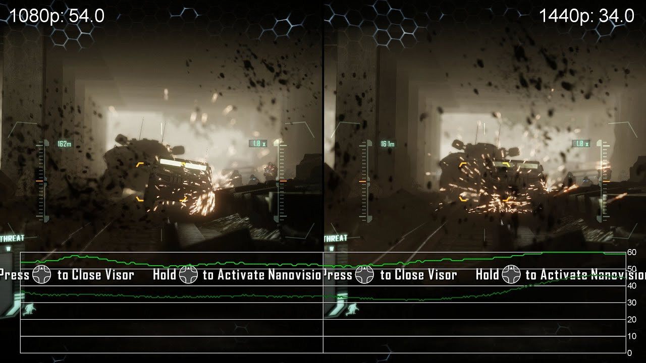 Crysis 3: GeForce GTX 760 1080p vs. 1440p Frame-Rate Tests - YouTube