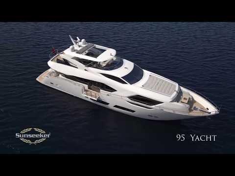 The New Sunseeker 95 Yacht