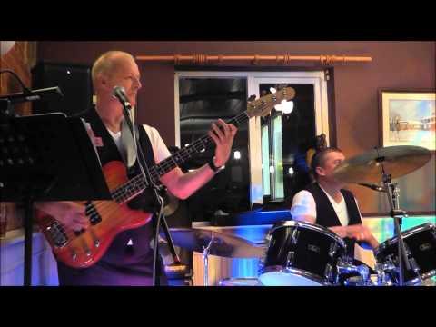 ReTrio Band perform live at the Victoria pub, Thurston Suffolk.