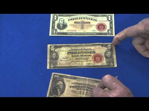 Philippine World War II Bank Notes on Display at Memphis Paper Show. VIDEO: 3:21.