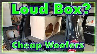 Cheap-Woofer Enclosure Build