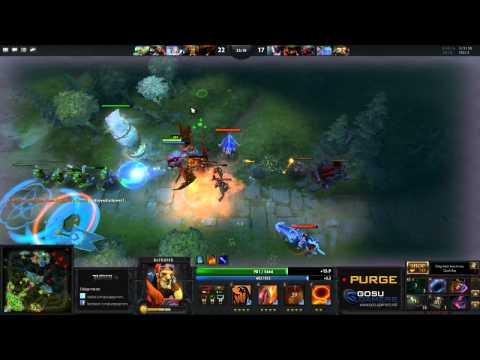 dota 2 purge plays batrider purge gamers