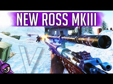 ROSS Mk3 HEADSHOT KING - Battlefield 5 Multiplayer Gameplay thumbnail