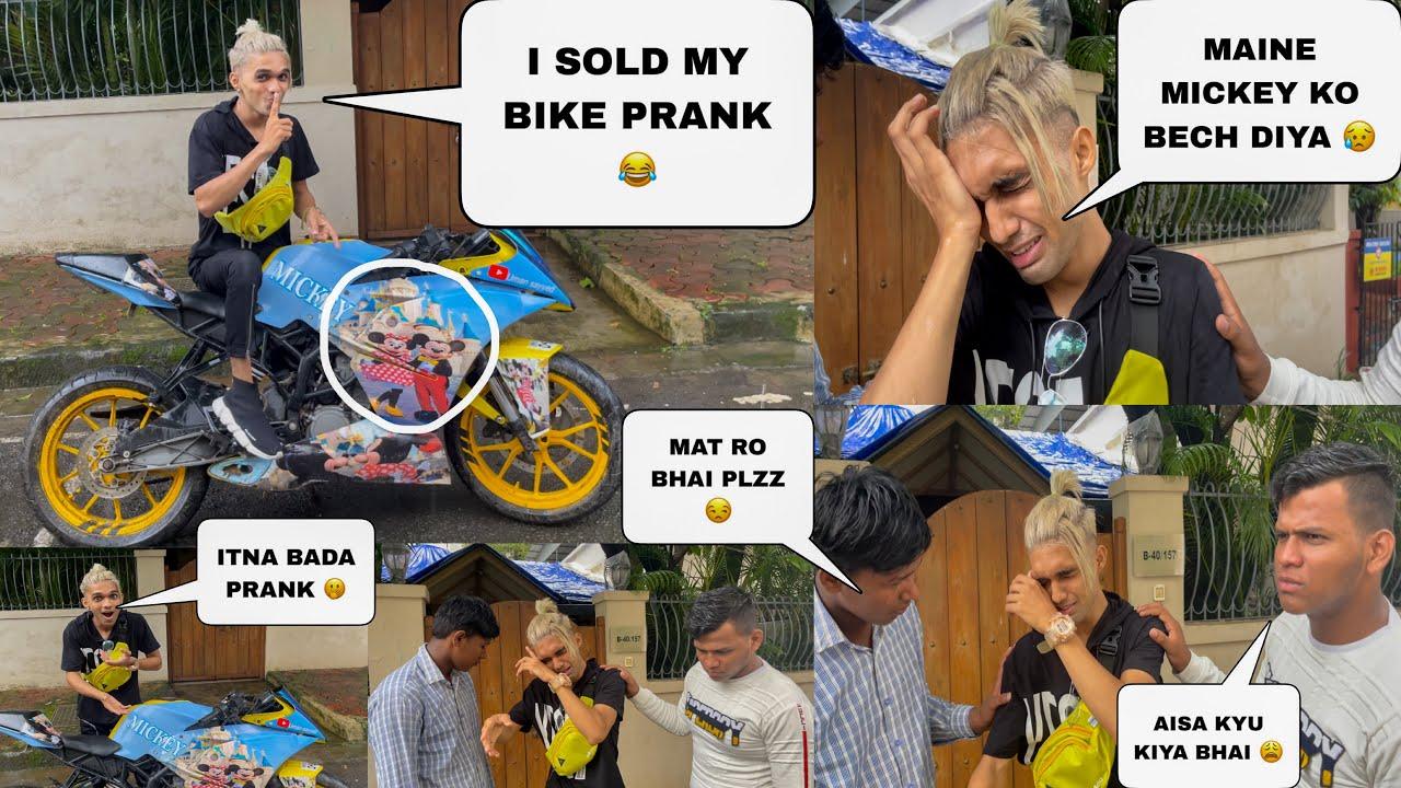 I Sold My Bike Prank With My Friends 😂 || Uman Sayyed