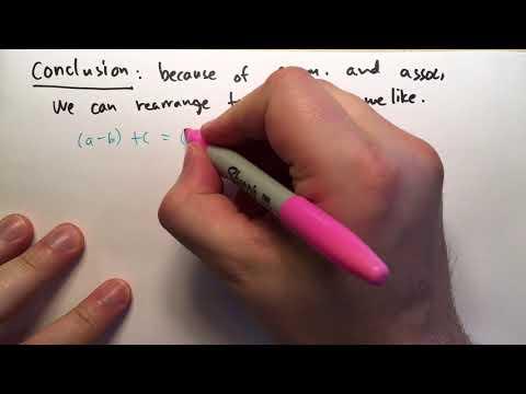 1.2 Rules for Addition (Basic Mathematics)
