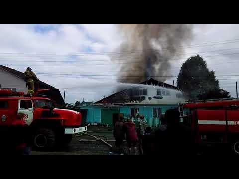 В Верхней Салде произошёл пожар в частном доме на улице 25 Октября